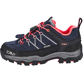 CMP Campagnolo Rigel Low WP Trekking Shoes Kids antracite-red fluo